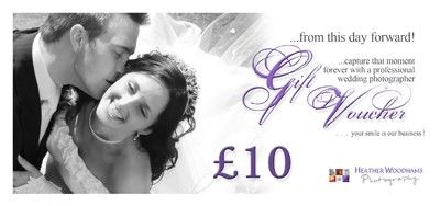 Wedding Gift Vouchers : Heather Woodhams Female Wedding Photographer Wedding Gift Vouchers